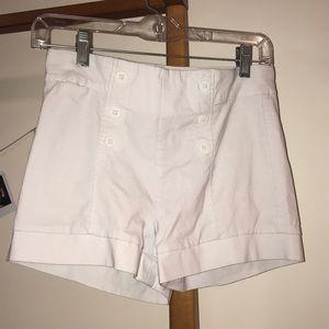 White sailer BeBop shorts! 5